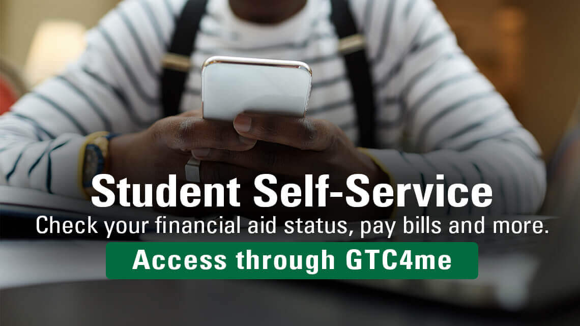 Student Self-Service - financial aid status, pay bills and more